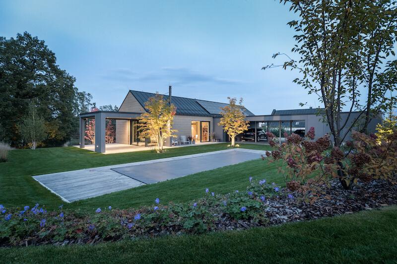 Moderní tvář srubového domu