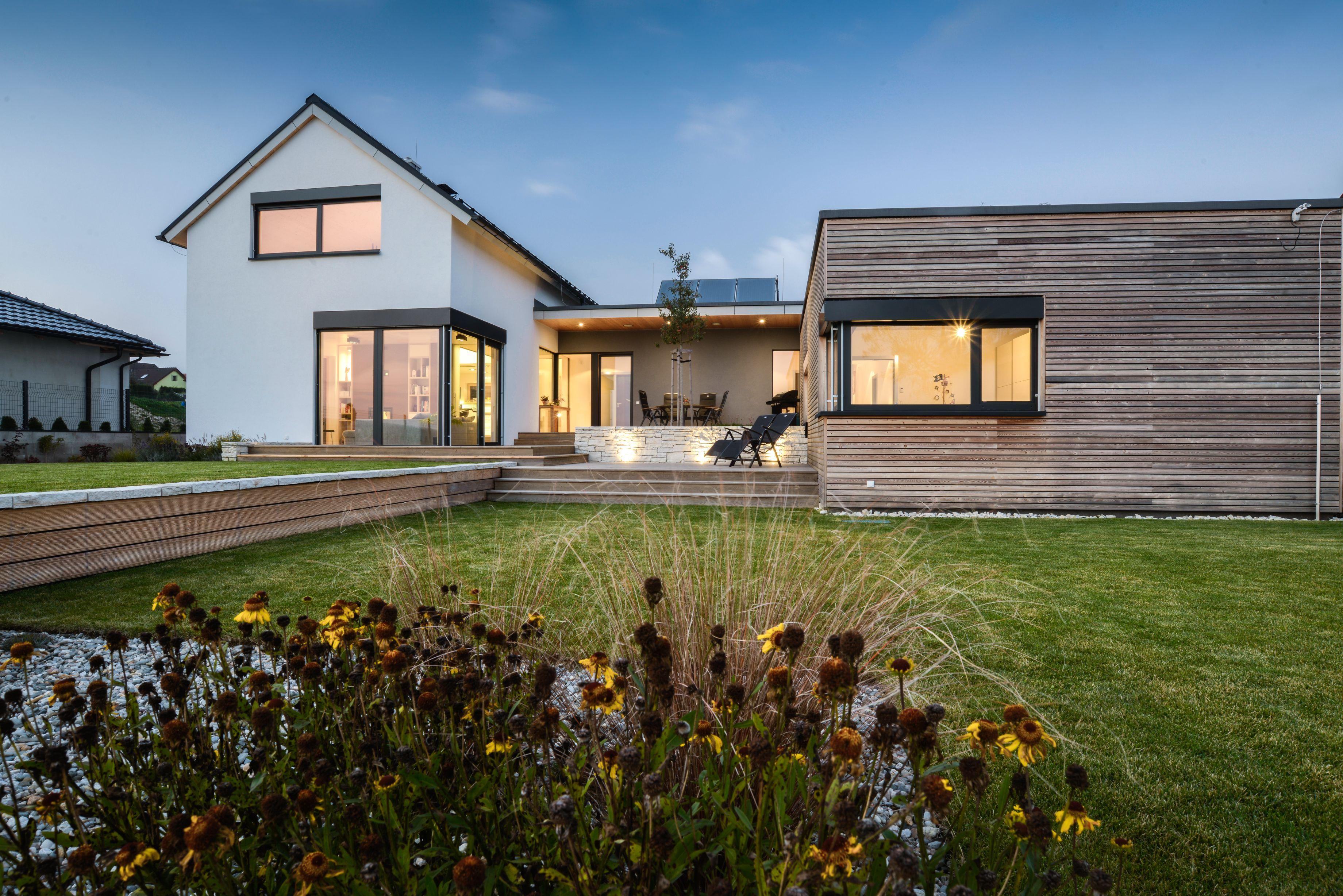 Dům se zeleným srdcem