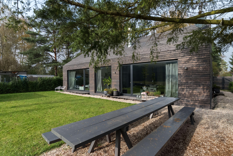 Dřevěný byt v přírodě