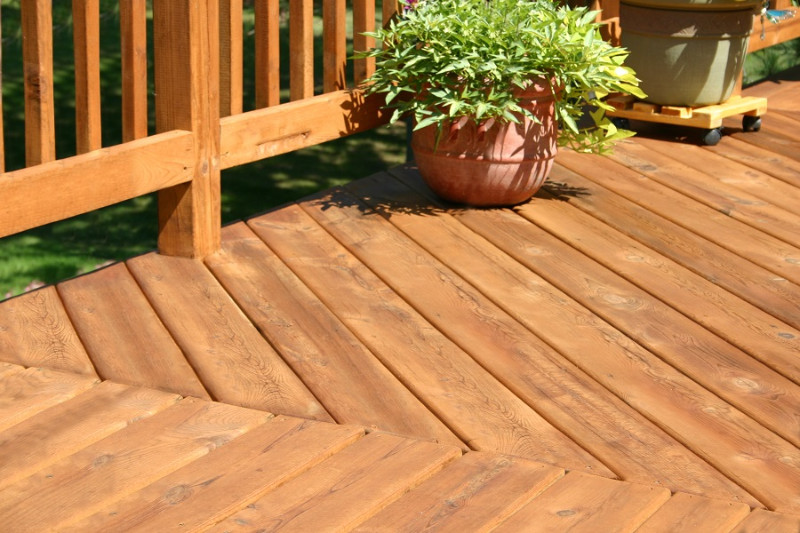 Wooden deck herring pattern-2187