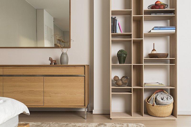 úložný Nábytek V Moderní Dřevostavbě Praktický I Hravý